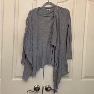 NWOT CAbi Grey Cardigan Size M